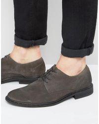 AllSaints | Leather Shoe | Lyst