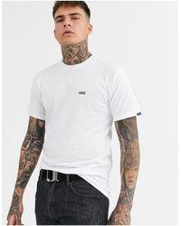 Vans – es T-Shirt mit kleinem Logo - Weiß