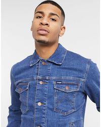 Wrangler Veste en jean - Bleu