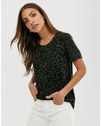 B.Young T-shirt à imprimé léopard - Multicolore