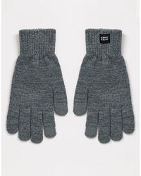 Jack & Jones Gloves - Grey