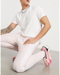 PUMA Спортивные Штаны Розового Цвета С Логотипом Luxe-розовый Цвет