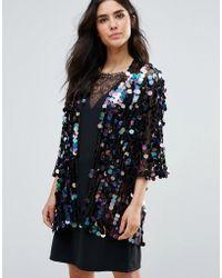 Oh My Love - Mermaid Sequin Kimono - Lyst