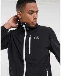 Calvin Klein Черная Куртка 24/7 Ultrlight-черный