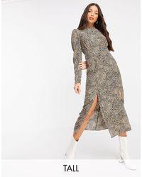 TOPSHOP Платье-рубашка С Принтом -мульти - Многоцветный