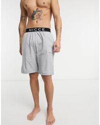 Nicce London Loungewear - sofa - short - Gris