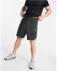 Reebok Shorts melange - Negro