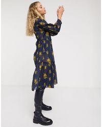 M.i.h Jeans Mih Lyra Skater Dress - Blue