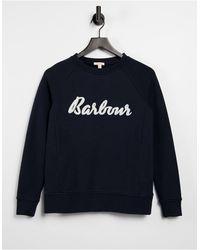 Barbour – Otterburn – Sweatshirt für Lagenlooks - Blau