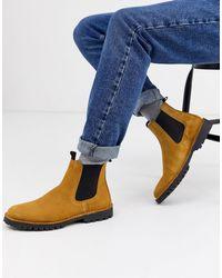 SELECTED Chelsea Boots Met Dikke Zool - Meerkleurig