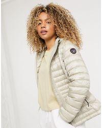 Napapijri Aerons Hooded Jacket - Natural