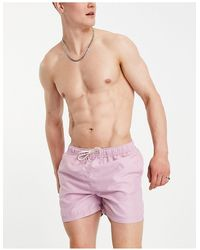 SELECTED Swim Short - Purple
