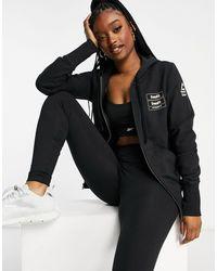 Reebok Rc Full Zip Hoodie - Black