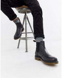 Dr. Martens - Черные Ботинки Челси 2976-черный - Lyst