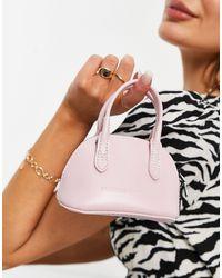 Claudia Canova Super Mini Grab Bag - Purple