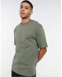 SELECTED Oversized T-shirt - Green