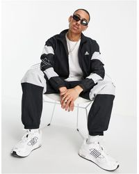 adidas Originals Adidas Training Tracksuit Set With Logo - Black