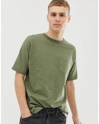 Pull&Bear Join Life Organic Cotton T-shirt - Green