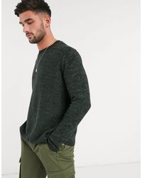 Only & Sons – Strickpullover aus 100% Baumwolle - Grün