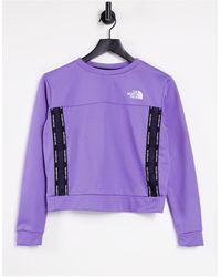 The North Face Фиолетовый Свитшот Mountain Athletic-фиолетовый Цвет - Пурпурный