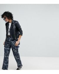 Reclaimed (vintage) - Revived Military Trousers In Pixel Camo - Lyst