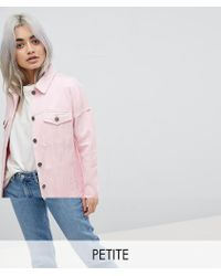 Noisy May Petite | Denim Jacket | Lyst