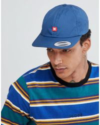 DC Shoes - 6 Panel Strapback With Small Logo - Lyst