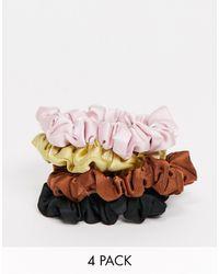 Monki Pack de 4 coleteros multicolor mimmi de