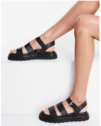 & Other Stories - Leather Chunky Strappy Sandals - Lyst