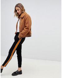 Vero Moda - Side Stripe Track Pants - Lyst