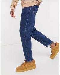 New Look - Jeans vestibilità classica lavaggio scuro - Lyst