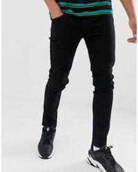 Only & Sons Skinny-fit Jeans - Zwart