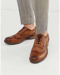 Redfoot - Светло-коричневые Массивные Броги -светло-коричневый - Lyst