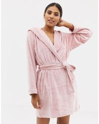Ted Baker - B By Embossed Dressing Gown - Lyst