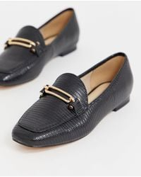 Miss Selfridge Loafers In Black