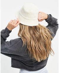 Weekday Berry Organic Cotton Textured Bucket Hat - Multicolour