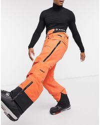 Planks Tracker - Pantalon chaud - sauvetage - Orange