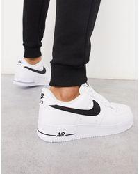 Nike Белые Кроссовки Air Force 1 '07-белый