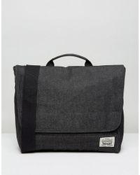 Levi's - Levi's Original Messenger Bag In Dark Grey - Lyst