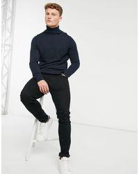 Tom Tailor Roll-neck - Blue