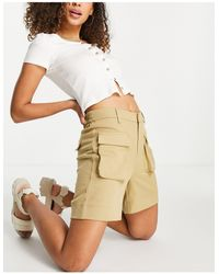 Object Recycled Blend Utility Short - Natural