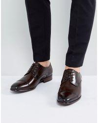ALDO - Galerrange Derby Leather Shoes In Brown - Lyst
