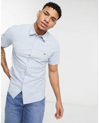 Lacoste - Slim Fit Cotton Shirt - Lyst