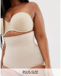 Spanx Curve Higher Power Knickers - Natural