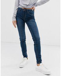 Pieces Skinny Jeans - Blauw