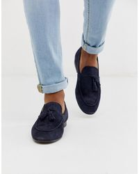 H by Hudson - Bolton Tassel Loafers - Lyst