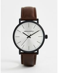 ASOS Watch - Brown