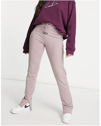 The Couture Club Rib Trackies Co Ord - Multicolour