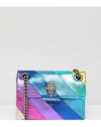 Kurt Geiger - Kurt Geiger Rainbow Mini Kensington S Leather Cross Body Bag - Lyst
