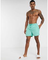 Jack & Jones Intelligence Swim Shorts - Blue